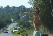 Watch video Naked Hitch Hiker
