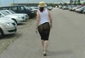 Watch video Nearly Naked Walk