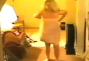 Watch video Big tits drop towel