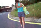 Watch video Chasing after her