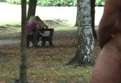 Watch video Naked perv at the park