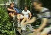 Watch video Great Public Gangbang
