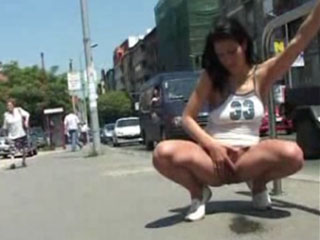 Watch video Street hot pissing 006