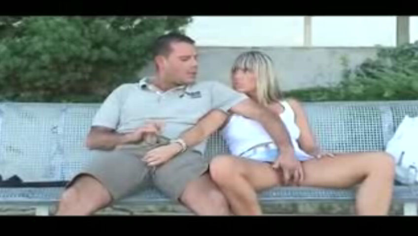 Watch video Extreme couple adores public sex
