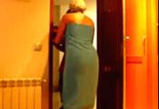 Watch video Española guapa pero no suelta toalla :(