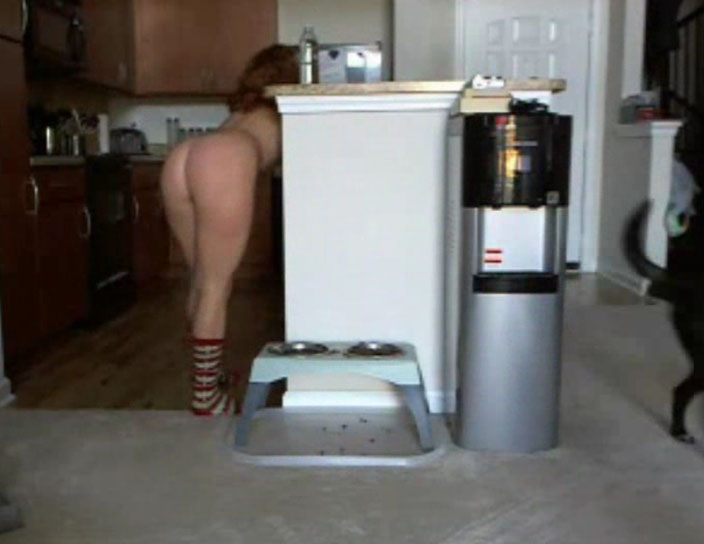 Watch video Spying on naked housekeeping