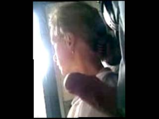Jerk off train video