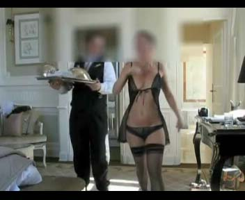 Watch video sexy nylon MILF ordering lunch
