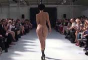 Watch video Nude catwalk