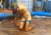 Watch video Mud Wrestling