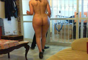 Watch video Naked Pizza Delivery 1 (Vanesa)