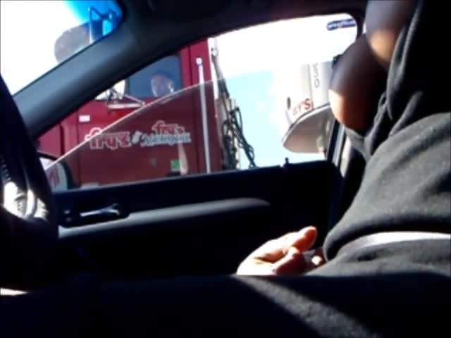 Watch video Flashing Truck – Pussy Wet
