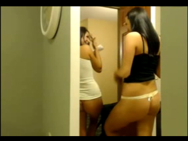 Watch video Two Girls Flashing The Pizza Man 2