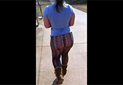 Watch video See Thru Leggings Pantiless