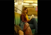 Watch video Big Cock Flashing In Train