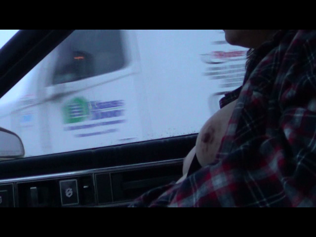 Watch video Boobs for truckers