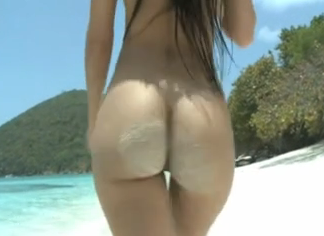 Watch video Da Ass Walking At The Beach