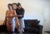 Watch video $800 – Big Booty Naked For Pizza Man