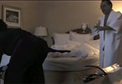 Watch video Room Service Flashing Cock