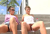 Watch video My Twin Sister Peeing In Public