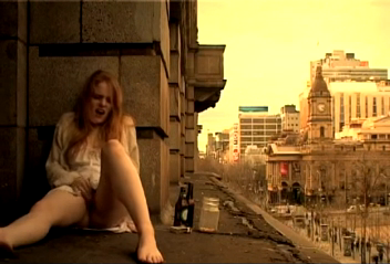 Watch video Cute Teen on a Ledge