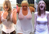 Watch video Wet T-Shirt Ice Bucket Challenge