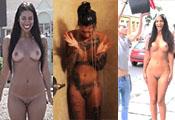 Watch video Naked Ice Bucket Challenge